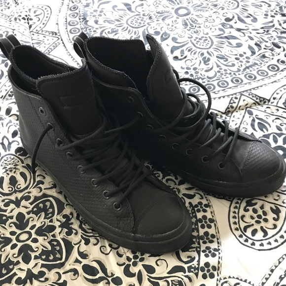 Converse Chuck Leather Hi Top Waterproof Boots